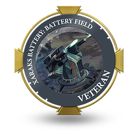 Veteran of Xaraks Battery Field
