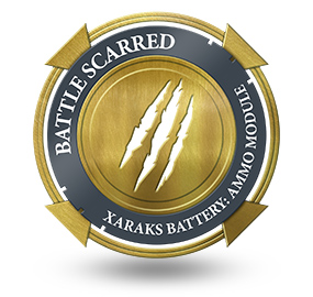 Battle Scarred at Xaraks Battery Ammo Module