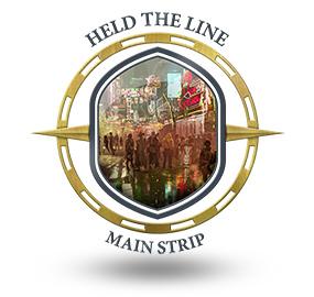 Held the line Main Strip