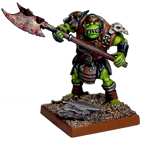 War Of Kings Facebook: Orc Great Ax Regiment From Mantic