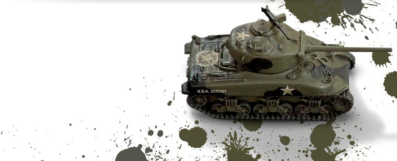 3 Colours Up: Painting a WW2 Sherman Tank Part 1 of 2 – OnTableTop