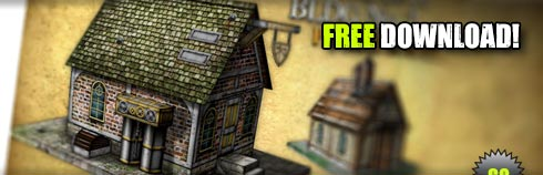 photo relating to Free Printable Scenery titled Totally free Printable Terrain Steampunk Acquiring (Website link Current