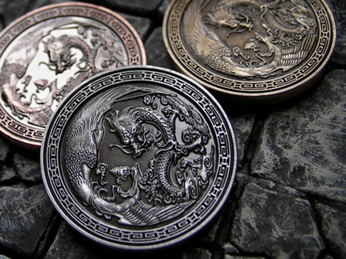 Beautiful Fantasy Coins From The Far East Hit Kickstarter
