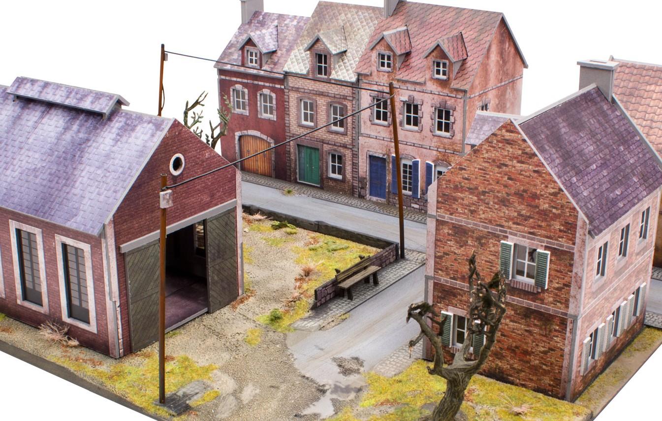 Plast Craft Show Off New Pre Colored World War Ii Scenery