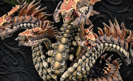 Hail The Desert Hydra! Skorne Gets A Mighty Monster For