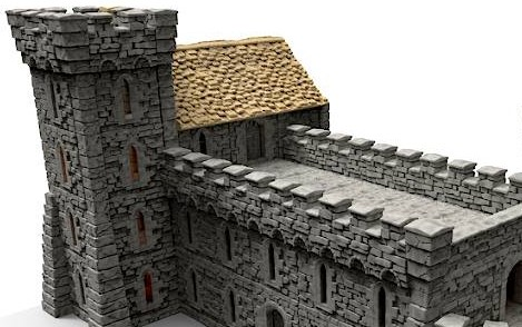 Printable Scenery Is Returning To Kickstarter To Bring Us A Castle