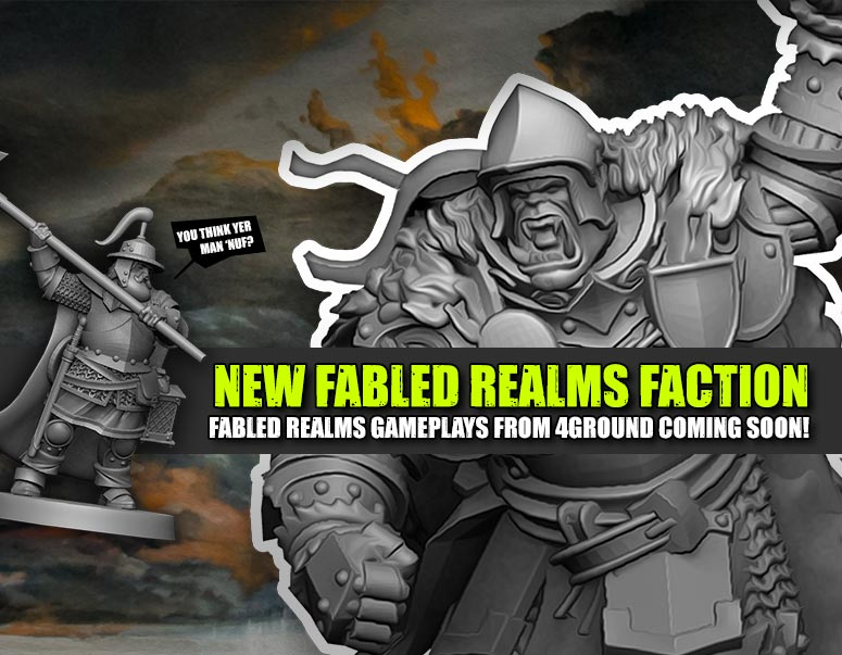 Weekender: New Fabled Realms Faction & Naval Wargaming At Midway