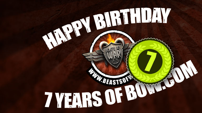 Happy 7th Birthday To All Of YOU!