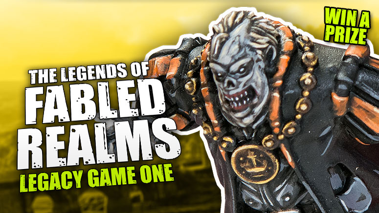 The Legends Of Fabled Realms: Legacy Game - Justin Vs John