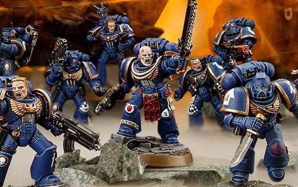 Games Workshop Introducing Space Marine Heroes Range To