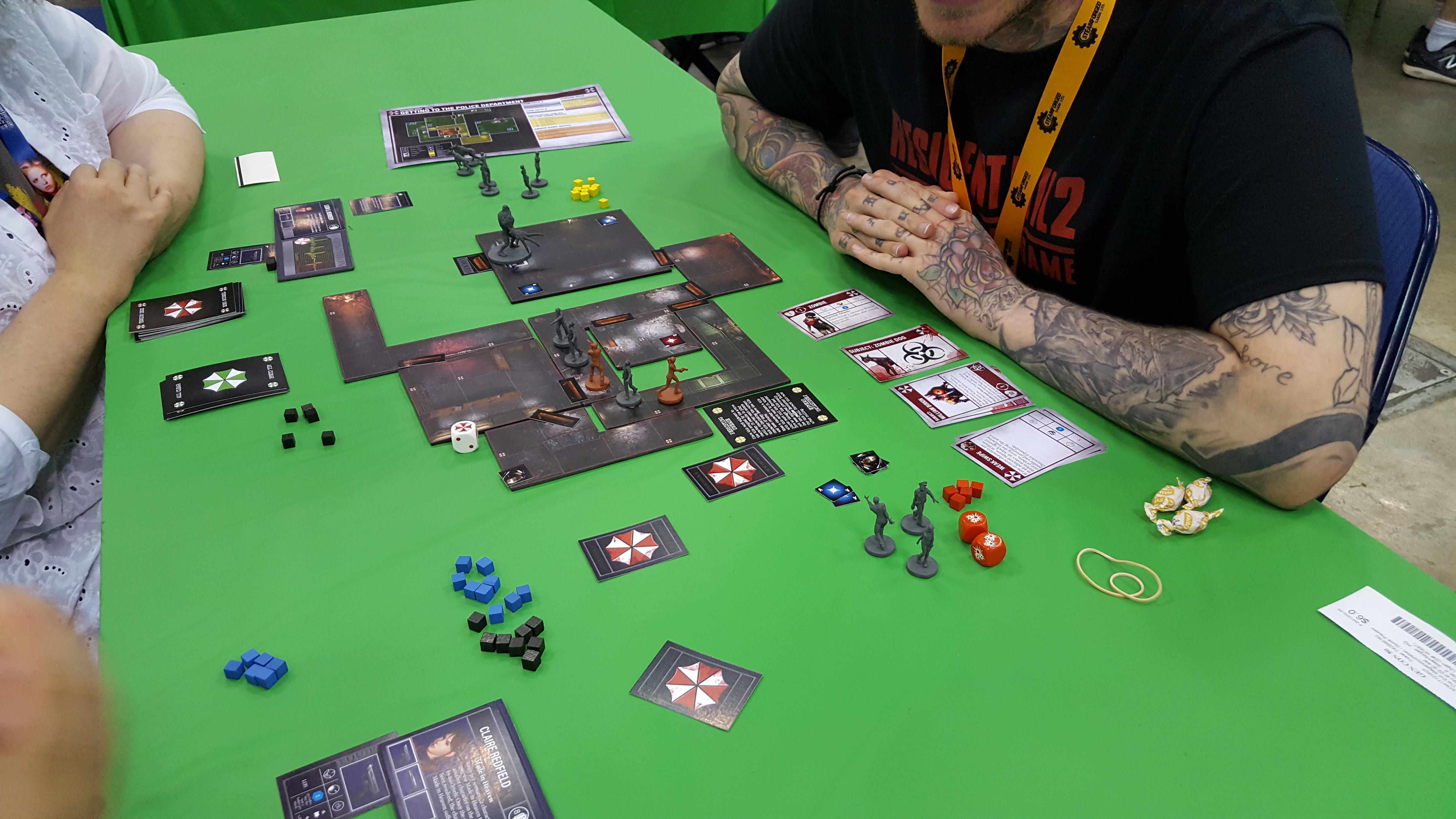 The Low Down On Steamforged S New Resident Evil Board Game