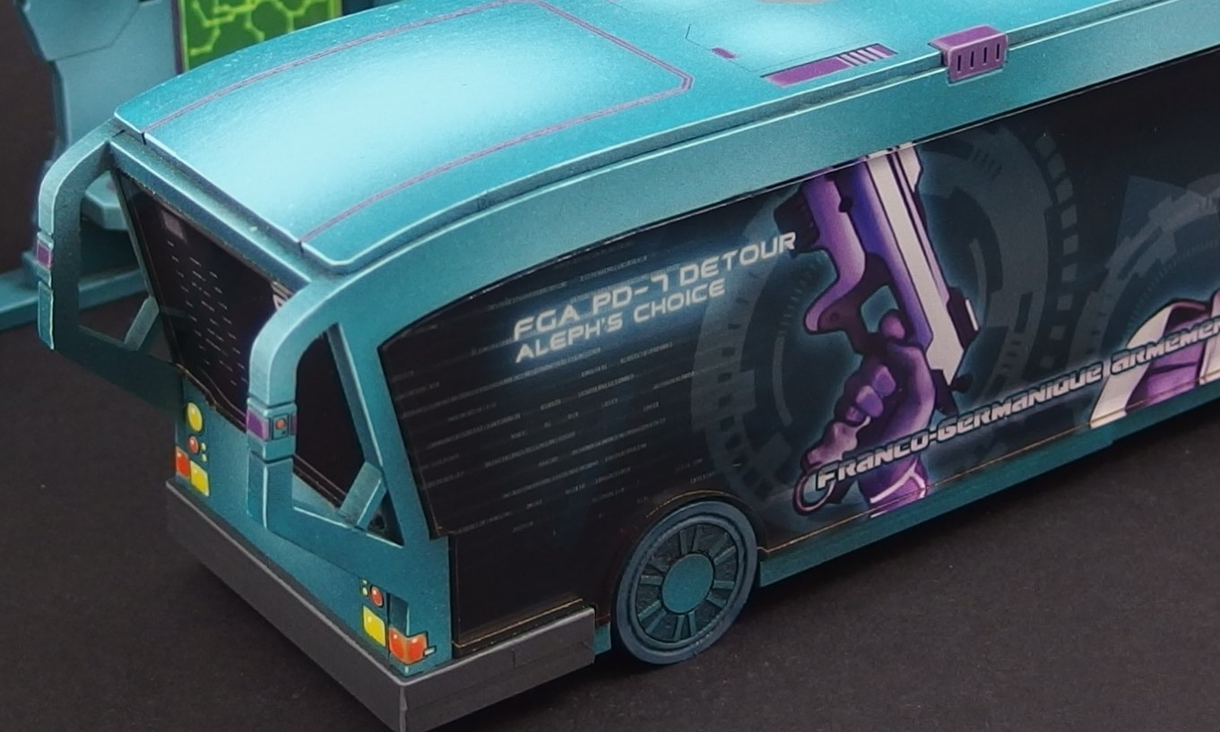 Bat Bus 12 >> Micro Art Studio Take A New Sci-Fi Bus To Their Industrial Tabletop – OnTableTop – Home of ...