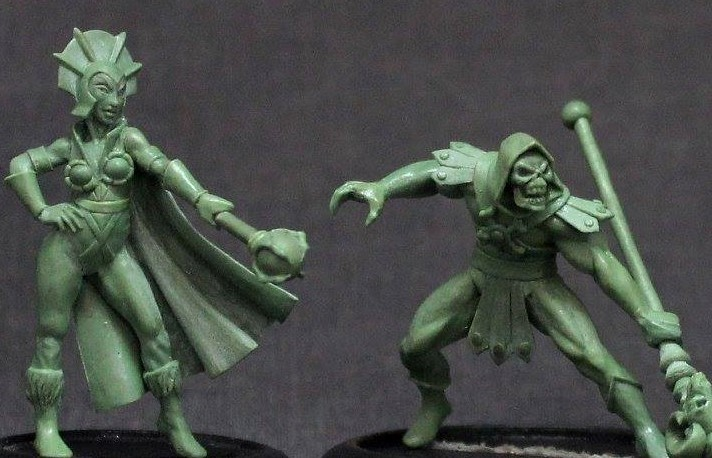 Boris Woloszyn Has The Power With He-Man Miniature Collection