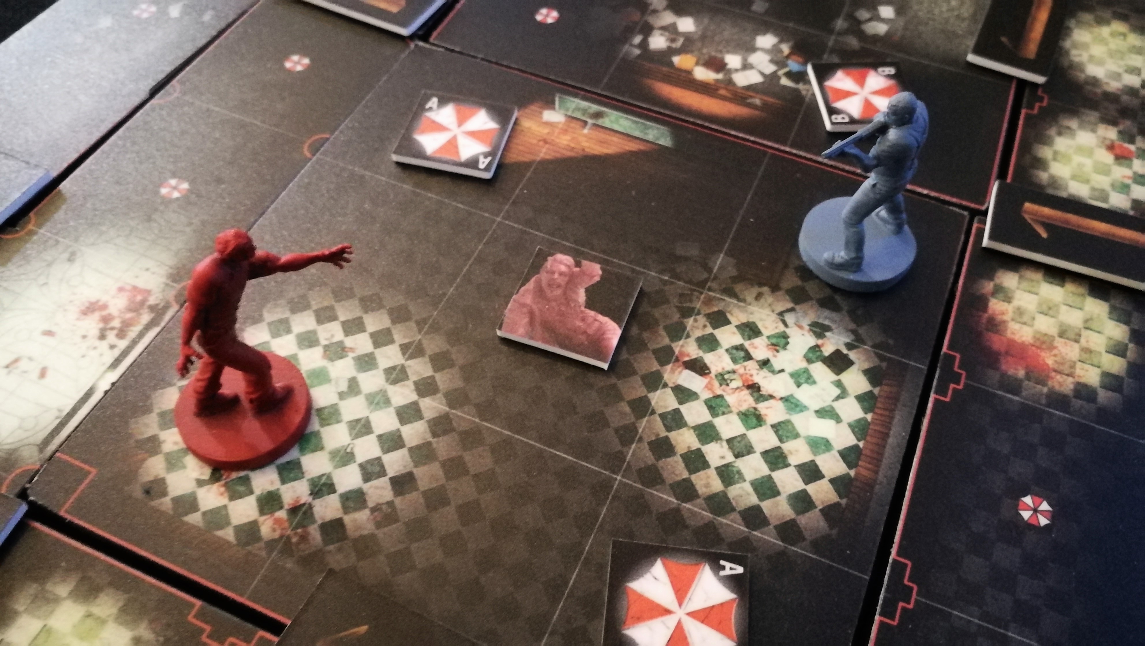 Newly Updated Resident Evil 2 Board Game Playthrough Ontabletop