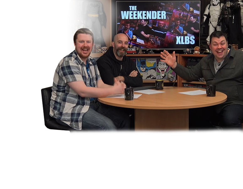The Weekender XLBS: Warren's Christmas Horn & Legacy games are da bomb!