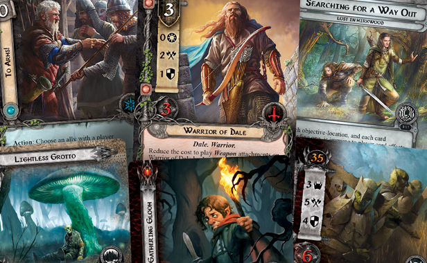 Meet Rhovanion Heroes From Ffgs New Lotr Lcg Expansion Ontabletop