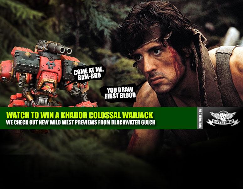 Weekender: A Creepy Awful Orphanage & Kickin' Ass In Rambo: The Board Game!