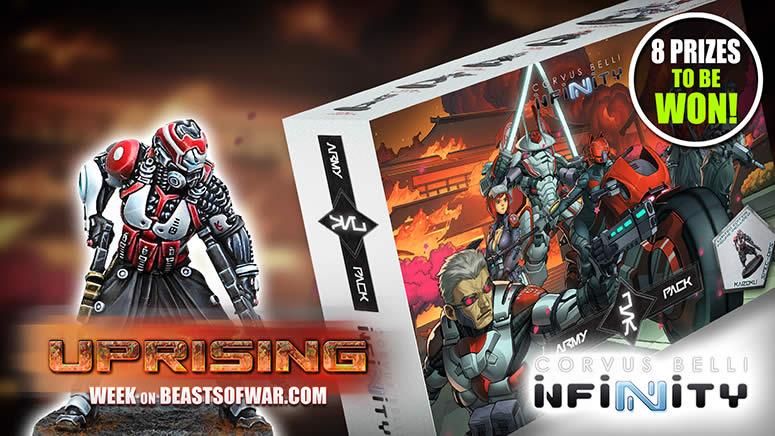 Infinity Uprising: Unboxing JSA Army Pack From Corvus Belli