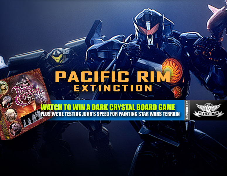 Weekender: Kaiju & Jaegers Clash In Pacific Rim: Extinction + John's Star Wars Challenge!