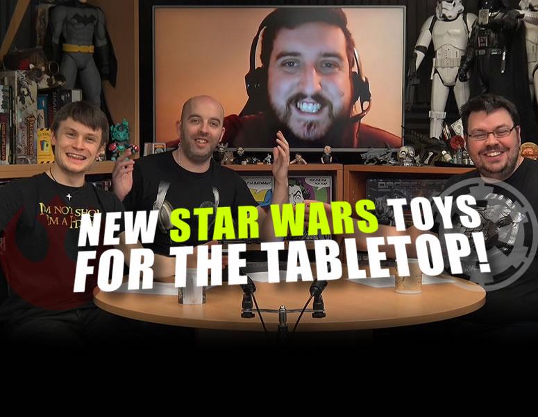 Weekender XLBS: Star Wars Tabletop Feedback & Hobby Workstation Pride!