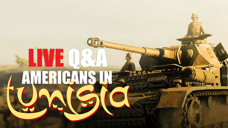 Americans In Tunisia LIVE Q&A with you!