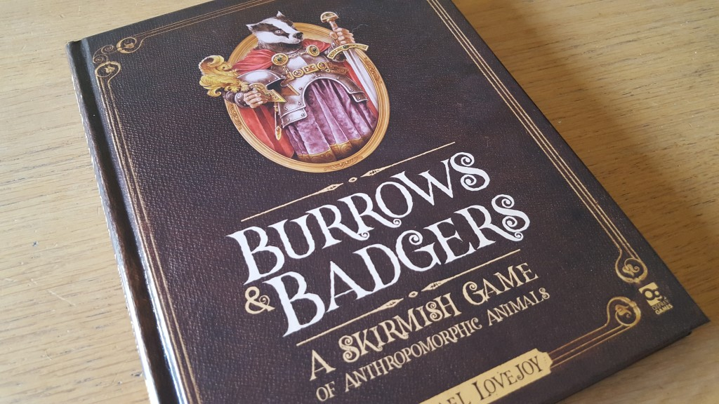 Burrows & Badgers Cover