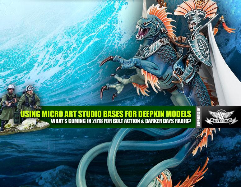 Weekender: Basing Age Of Sigmar's Idoneth Deepkin With Micro Art Studio