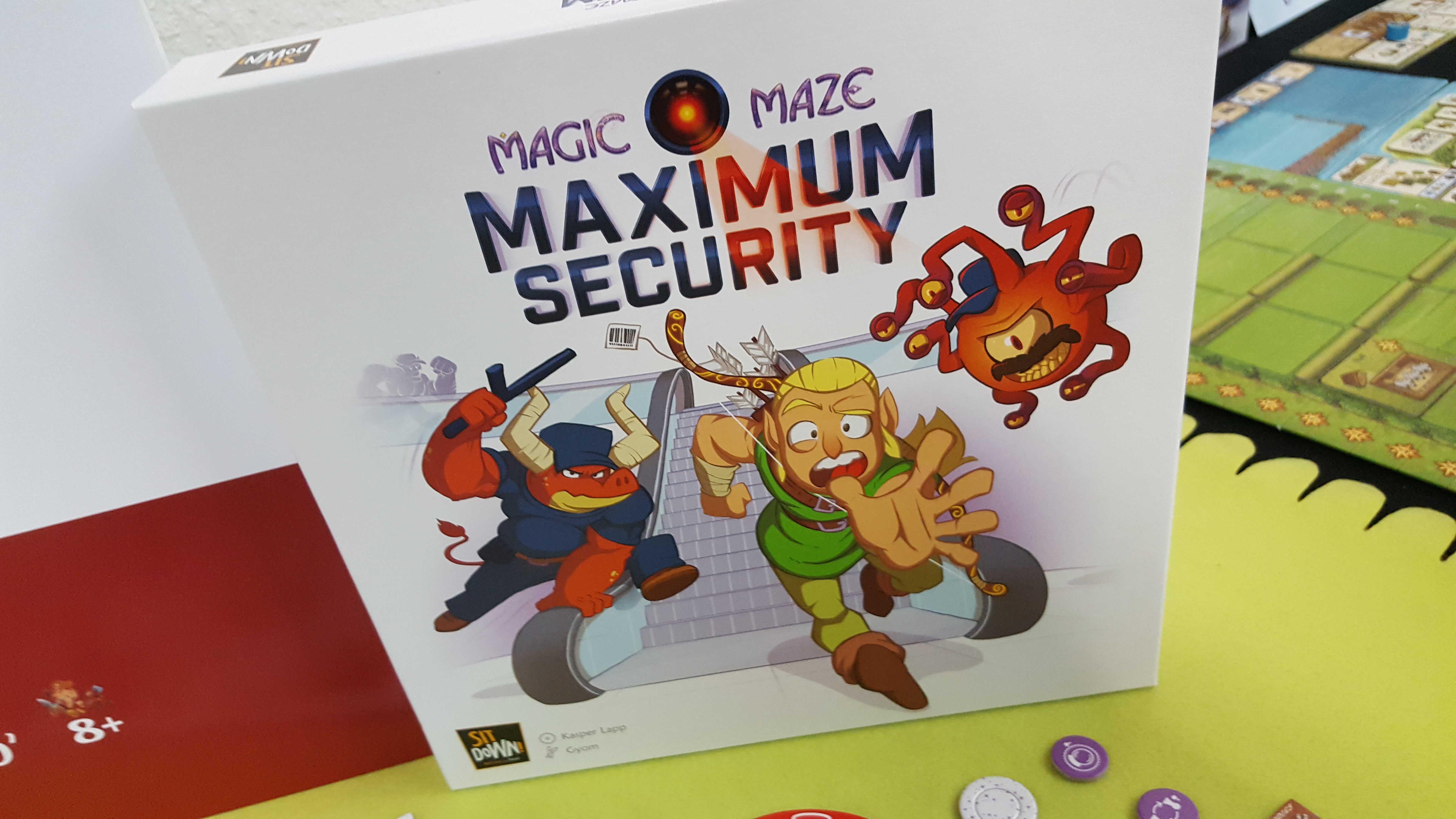 Magic Maze Maximum Security Board Game