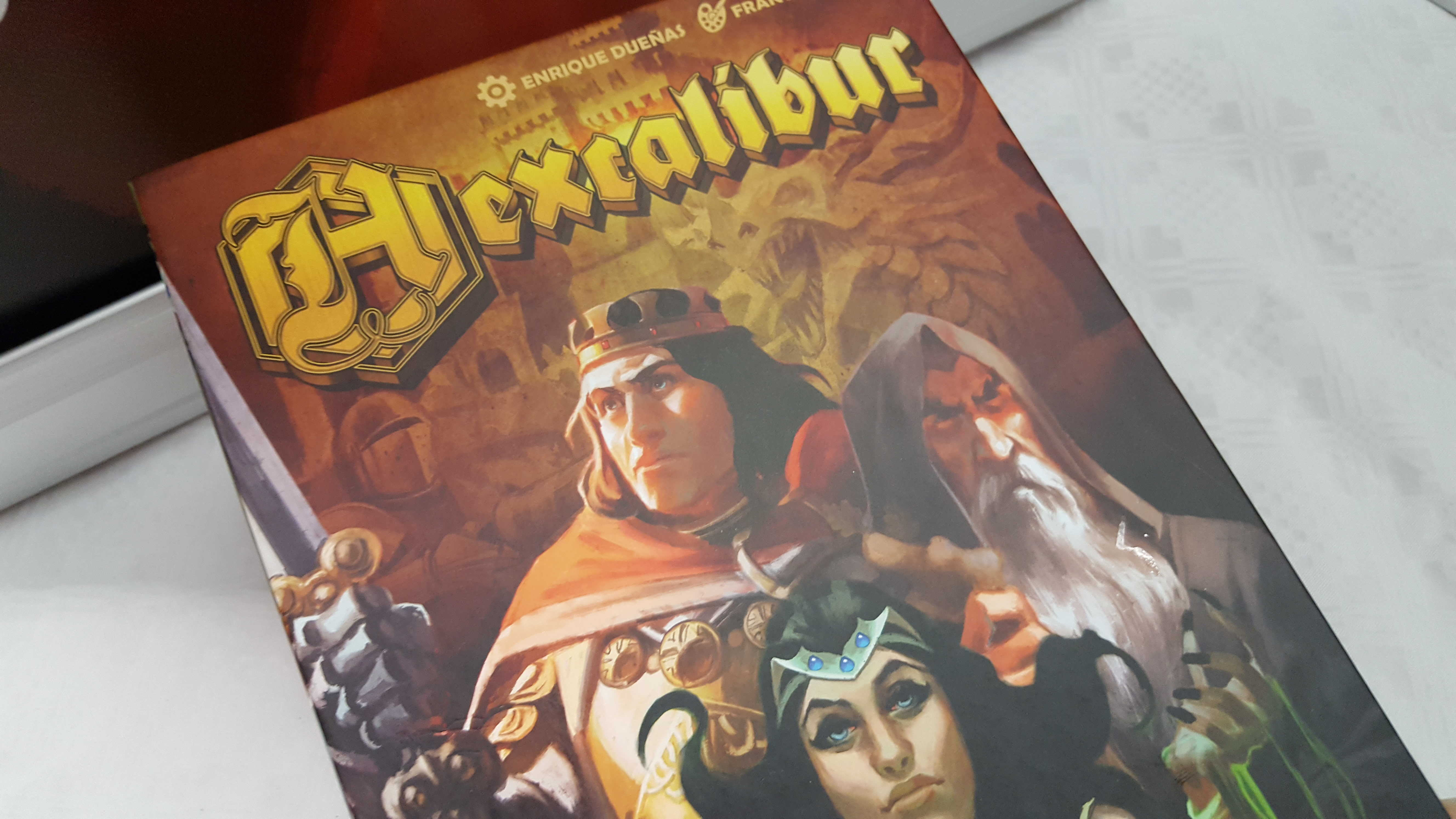 More Arthurian Awesomeness In Hexcalibur Beasts Of War