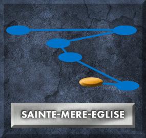 Sainte-Mere-Eglise Clasp (Blue Lane)