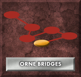 Orne Bridges Clasp (Red Lane)