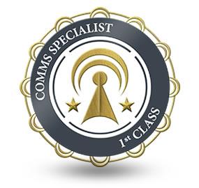 Comms Specialist 1st Class