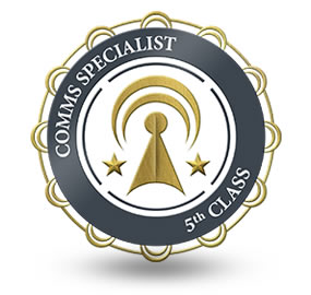 Comms Specialist 5th Class