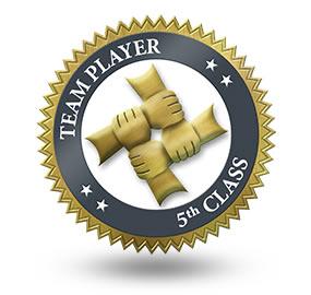 Team Player 5th Class