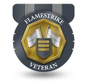 Veteran of Flamestrike – Rank: Captain