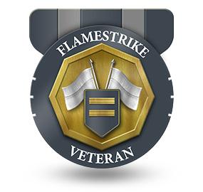 Veteran of Flamestrike – Rank: Commander