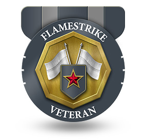 Veteran of Flamestrike – Rank: General