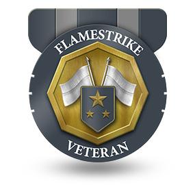 Veteran of Flamestrike – Rank: Major General
