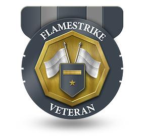 Veteran of Flamestrike – Rank: Major