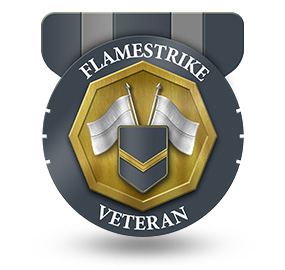 Veteran of Flamestrike – Rank: NCO 1st Class