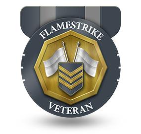 Veteran of Flamestrike – Rank: NCO 3rd Class