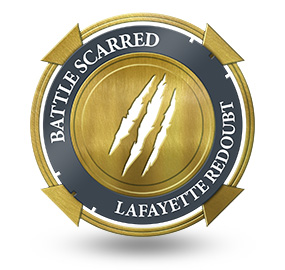 Battle Scarred at Lafayette Redoubt