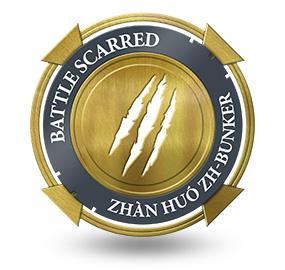Battle Scarred at Zhàn Huó ZH-Bunker