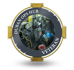 Veteran of Duban Ops Hub
