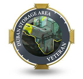 Veteran of Duban Storage Area