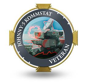 Veteran of Johnny-5 Kommstat