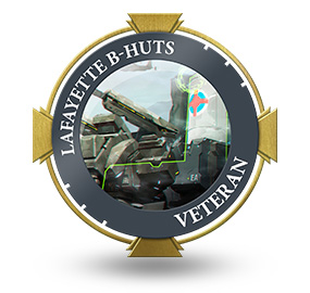 Veteran of Lafayette B-Huts