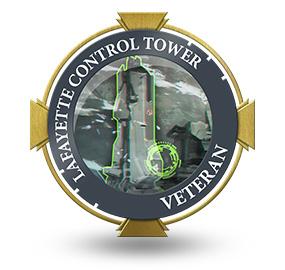 Veteran of Lafayette Control Tower