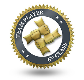 Team Player 6th Class